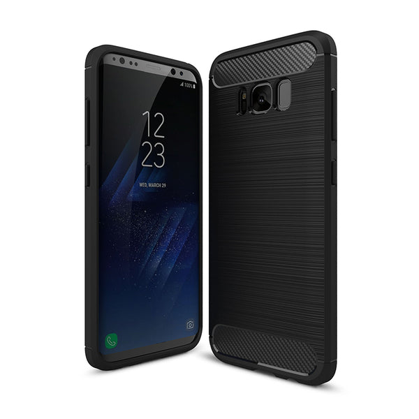 Black Brushed Metal Case (Galaxy S8/S8+)