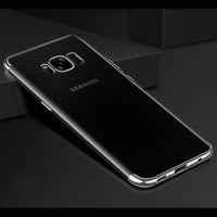 Silver Trim Clear Case (Galaxy S8/S8+)