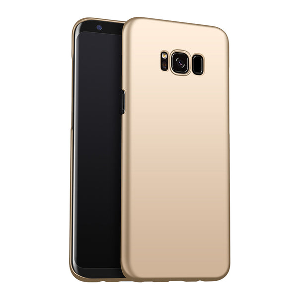 Metallic Gold Hard Case (Galaxy S8/S8+)