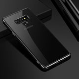 Black Trim Clear Case (Galaxy Note 9)