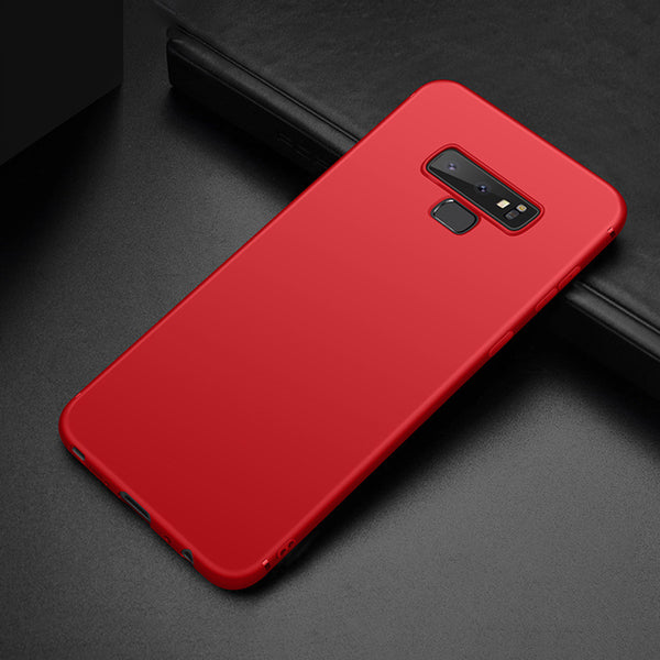 Matte Red Soft Case (Galaxy Note 9)