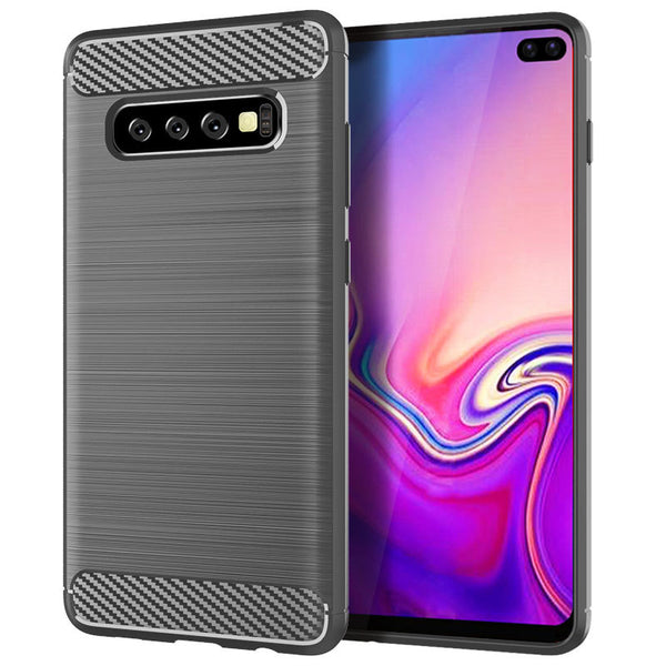 Grey Brushed Metal Case (Galaxy S10/S10e/S10+)