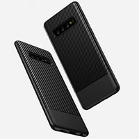 Navy Carbon Fiber Case (Galaxy S10/S10e/S10+)