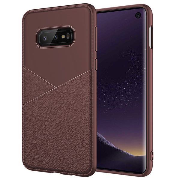Brown Leather V Case (Galaxy S10/S10e/S10+)