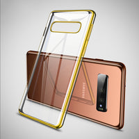Gold Trim Clear Case (Galaxy S10/S10e/S10+)