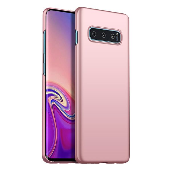 Metallic Rose Gold Hard Case (Galaxy S10/S10e/S10+)