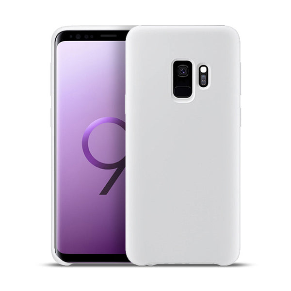 Clear White Soft Case (Galaxy S9/S9+)