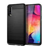 Black Brushed Metal Case (Galaxy A50)