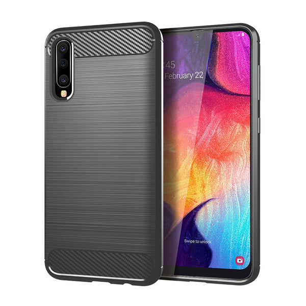 Grey Brushed Metal Case (Galaxy A50)
