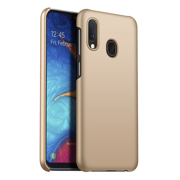 Metallic Gold Hard Case (Galaxy A20)