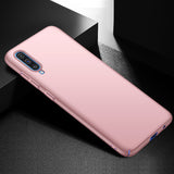 Metallic Rose Gold Hard Case (Galaxy A70)