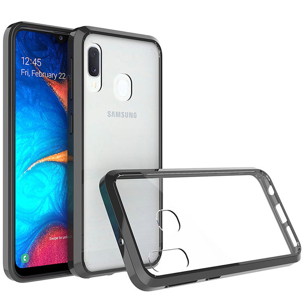 Acrylic Black Case (Galaxy A20)