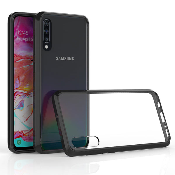 Acrylic Black Case (Galaxy A70)