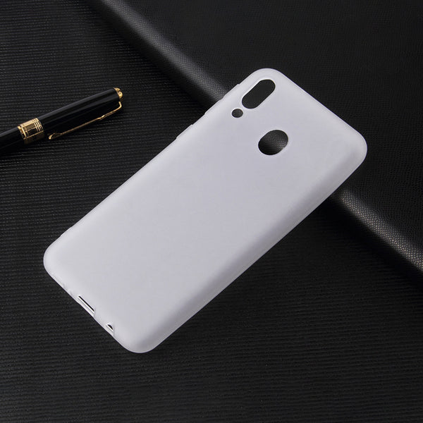 Clear White Soft Case (Galaxy A20)