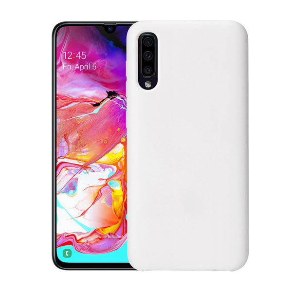 Clear White Soft Case (Galaxy A70)