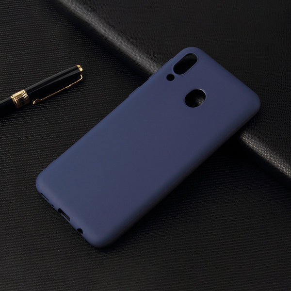 Matte Navy Soft Case (Galaxy A20)