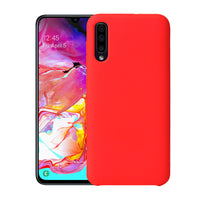 Matte Red Soft Case (Galaxy A50)