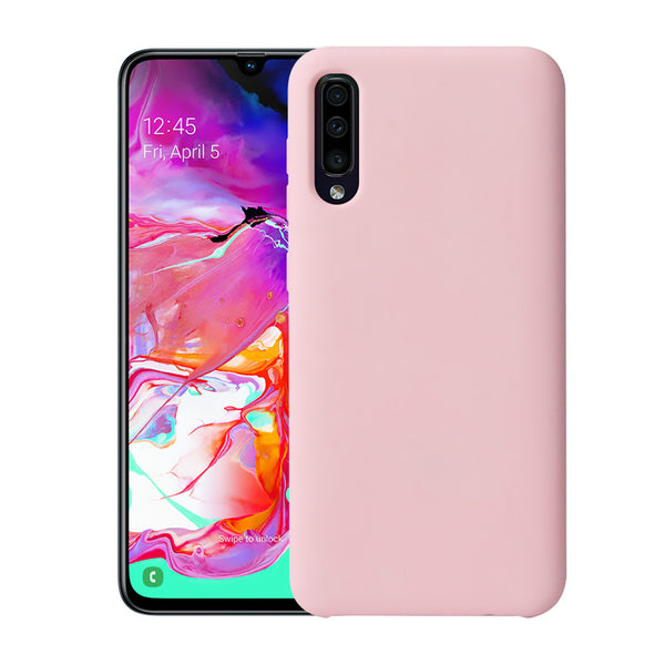 Matte Pink Soft Case (Galaxy A70)