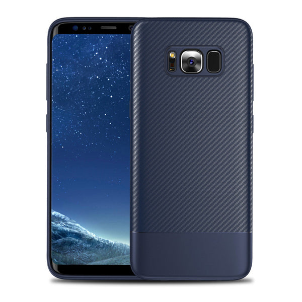 Navy Carbon Fiber Case (Galaxy S8/S8+)
