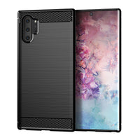 Black Brushed Metal Case (Galaxy Note 10+)