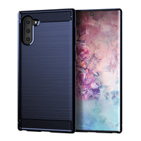 Navy Brushed Metal Case (Galaxy Note 10)