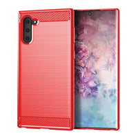 Red Brushed Metal Case (Galaxy Note 10)