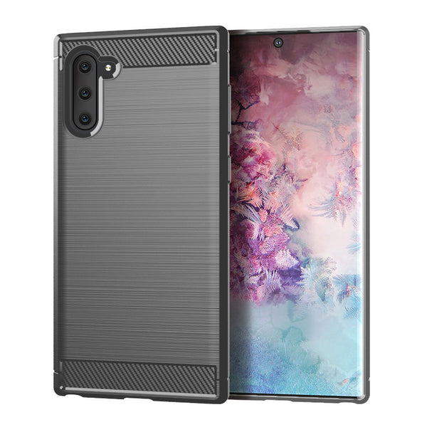 Grey Brushed Metal Case (Galaxy Note 10)