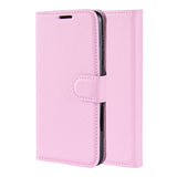 Pink Leather Wallet Case (Galaxy Note 10+)