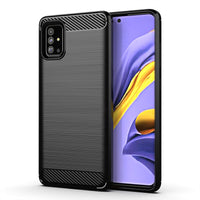 Black Brushed Metal Case (Galaxy A51)
