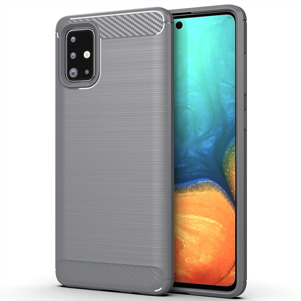 Grey Brushed Metal Case (Galaxy A71)
