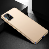 Metallic Gold Hard Case (Galaxy A71)