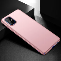 Metallic Rose Gold Hard Case (Galaxy A51)