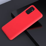 Matte Red Soft Case (Galaxy A51)