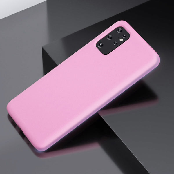 Matte Pink Soft Case (Galaxy A71)
