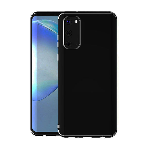 Black Trim Clear Case (Galaxy A51)