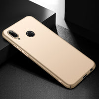 Metallic Gold Hard Case (Huawei P20 Lite)