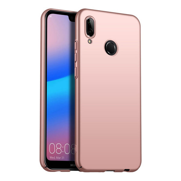 Metallic Rose Gold Hard Case (Huawei P20 Lite)