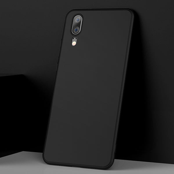 Matte Black Soft Case (Huawei P20)