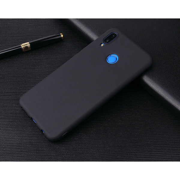 Matte Black Soft Case (Huawei P20 Lite)
