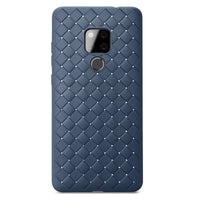 Navy Leather Weave Case (Huawei Mate 20)