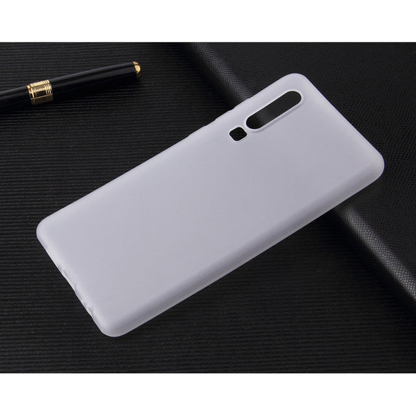 Clear White Soft Case (Huawei P30)