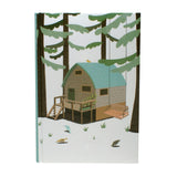 Forest Cabin Notebook