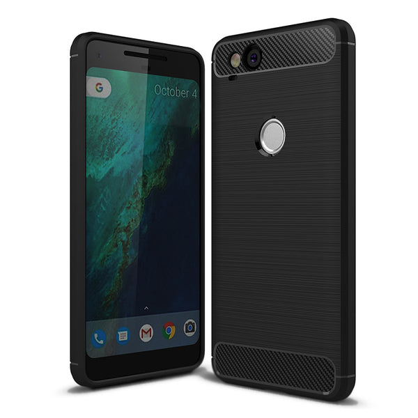 Black Brushed Metal Case (Pixel 2/2XL)