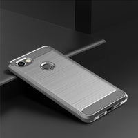 Grey Brushed Metal Case (Pixel 3a/3a XL)