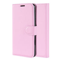 Pink Leather Wallet Case (Pixel 3a/3a XL)