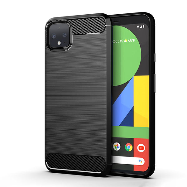 Black Brushed Metal Case (Pixel 4/4XL)