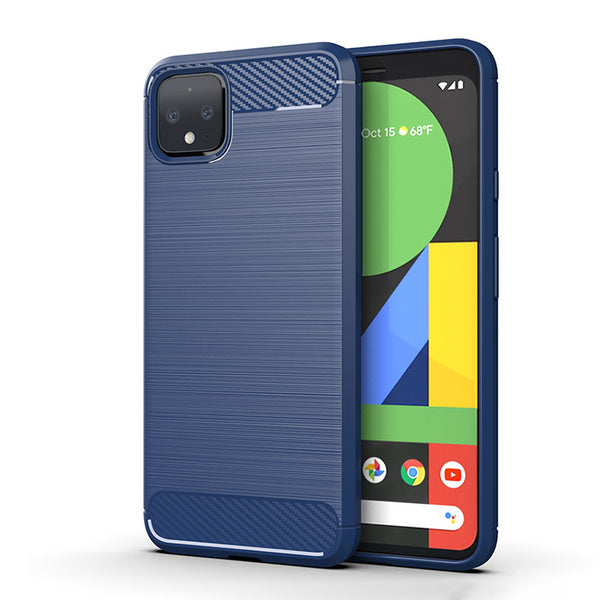 Navy Brushed Metal Case (Pixel 4/4XL)