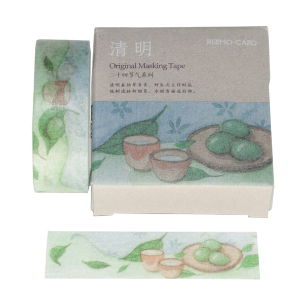 Tea Time Washi Tape