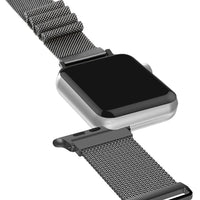 Forest Green Milan Mesh Apple Watch Strap