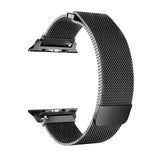 Grey Milan Mesh Apple Watch Strap